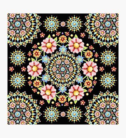 Flower Crown Bijoux Photographic Print
