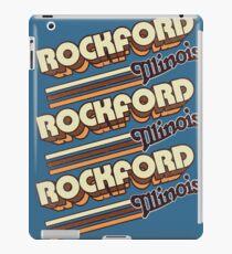 Rockford, IL | City Stripes iPad Case/Skin