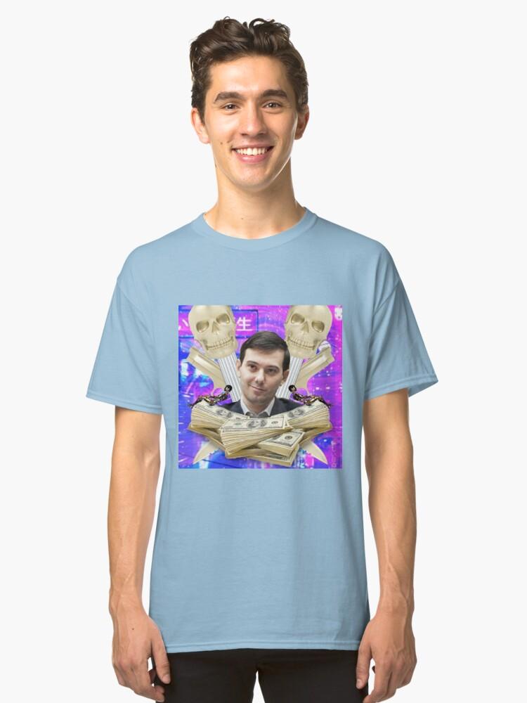 Martin Shkreli aesthetic Classic T-Shirt Front