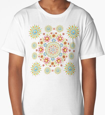 Flower Crown Carnival Long T-Shirt