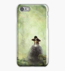 Merlin: Placing the sword in the stone iPhone Case/Skin