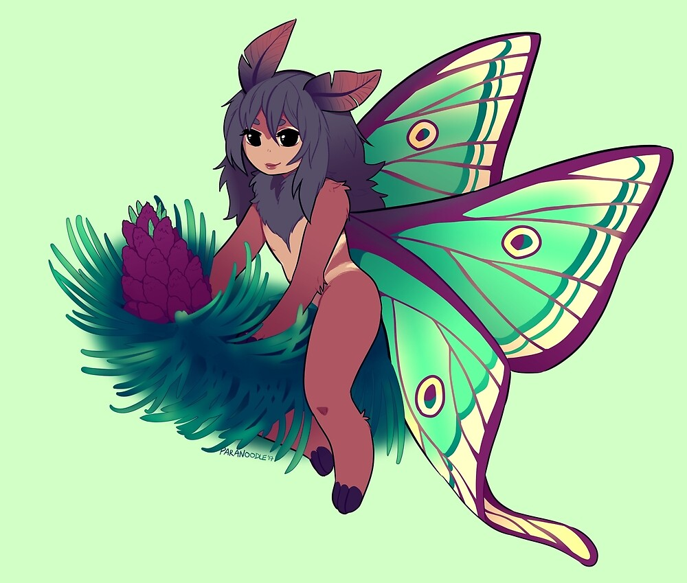 Fancifully Moth by paranoodle