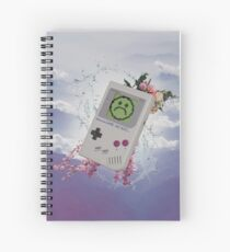 Vaporwave Game Sad Boys Spiral Notebook