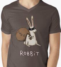 Robbit Men's V-Neck T-Shirt