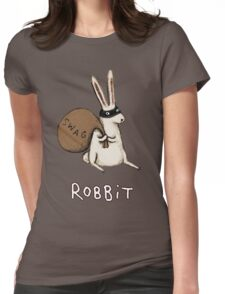 Robbit Womens Fitted T-Shirt