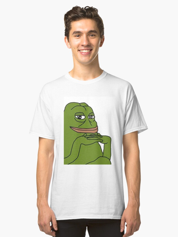 Easter Pepe Classic T-Shirt Front