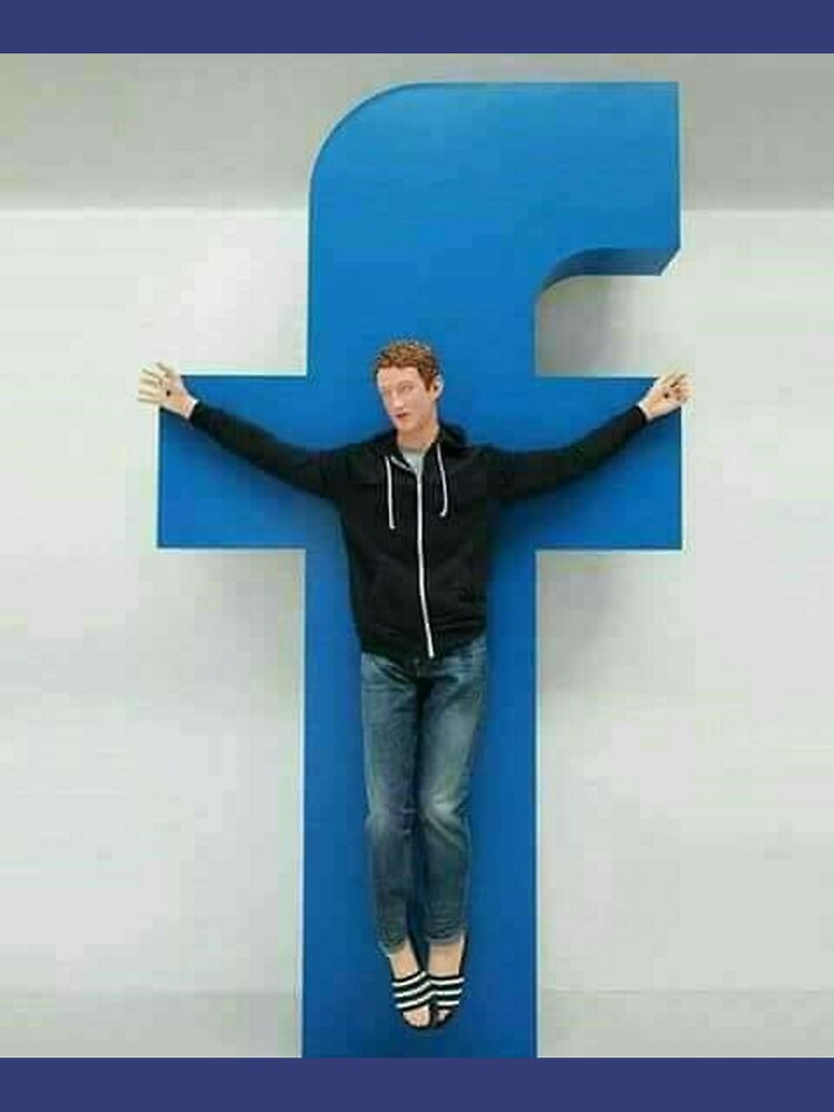Crucified Zuckerberg by vanobras