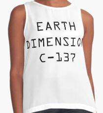 Blusa sin mangas Dimensión de la Tierra C-137