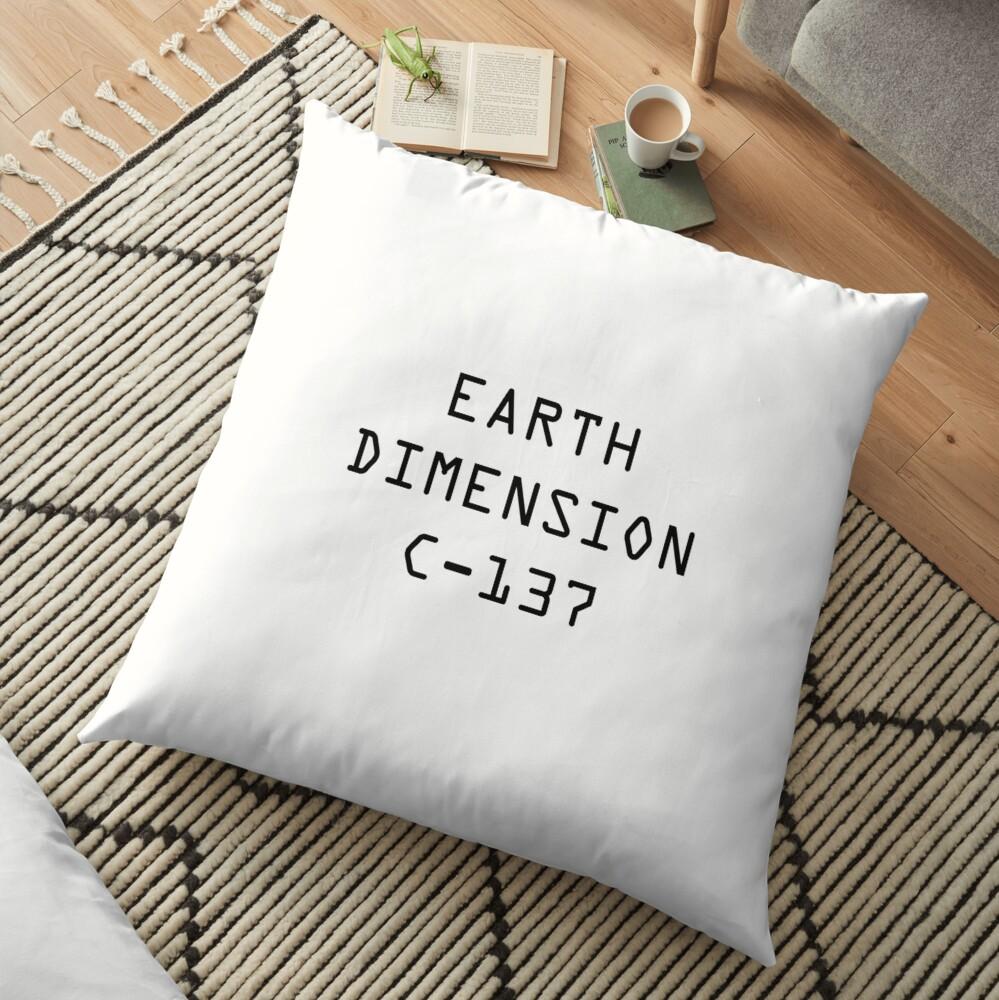 Dimensión de la Tierra C-137 Cojines de suelo