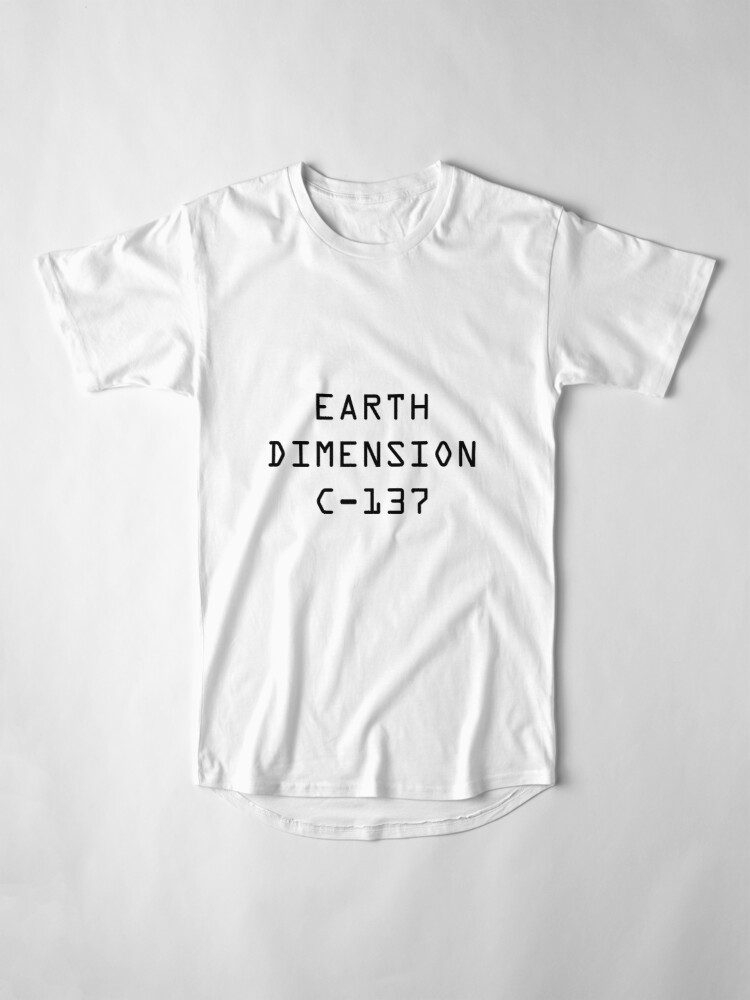 Alternate view of Earth Dimension C-137 Long T-Shirt