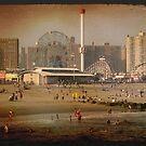 Coney Island Beach by lkippenbrock