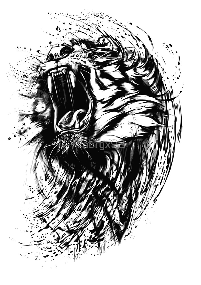 Roaring Tiger by fabryx92