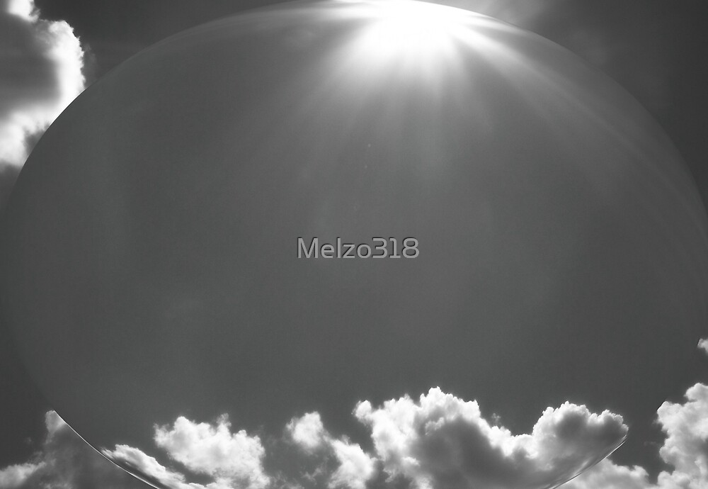 Sky caught  in a Bubble by Melzo318