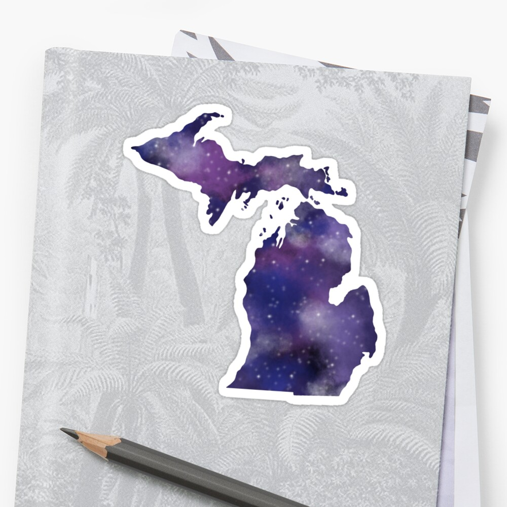 Galaxy Michigan by JordynAlison