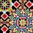 Celestial Mandala by PatriciaSheaArt