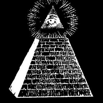 Illuminati Great Pyramid - All Seeing Eye by JacknightW