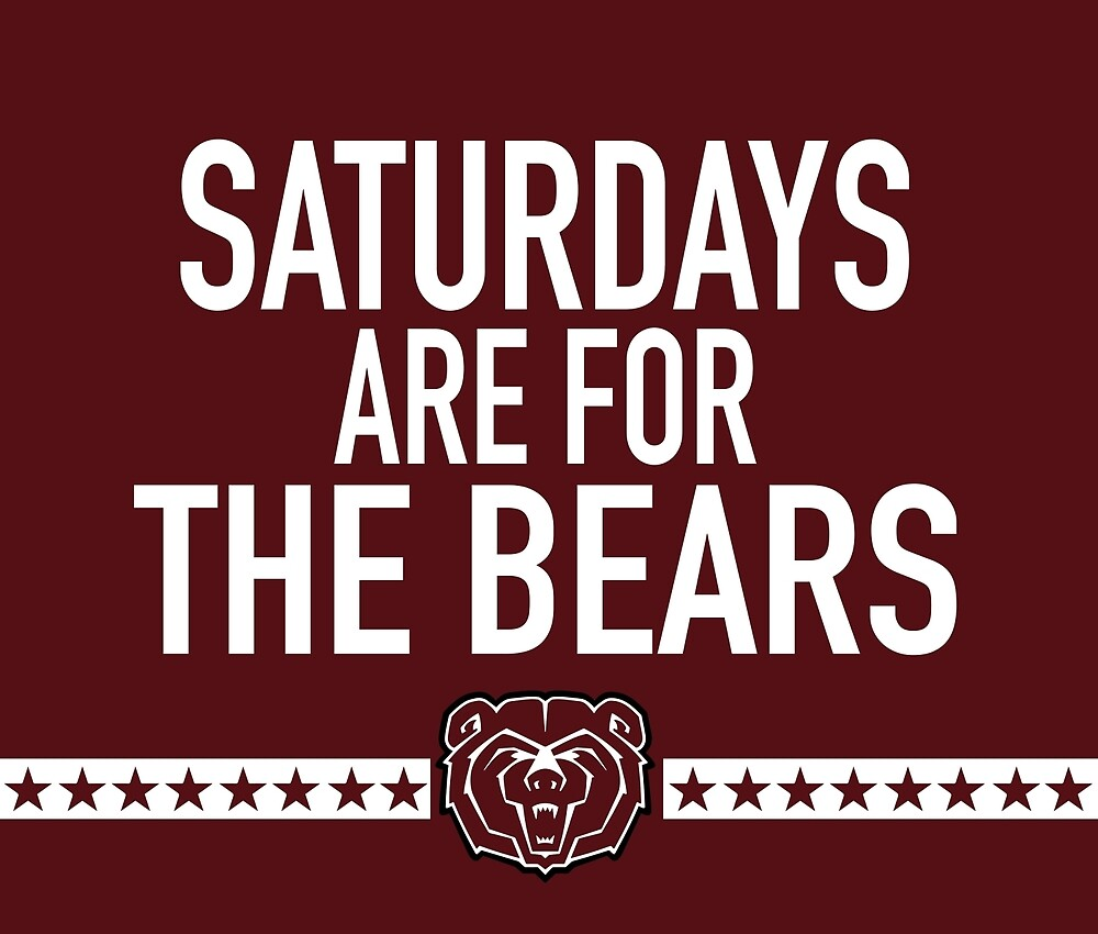 Saturdays are for the Bears by dfollmer91