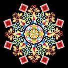 Revelry Mandala by PatriciaSheaArt