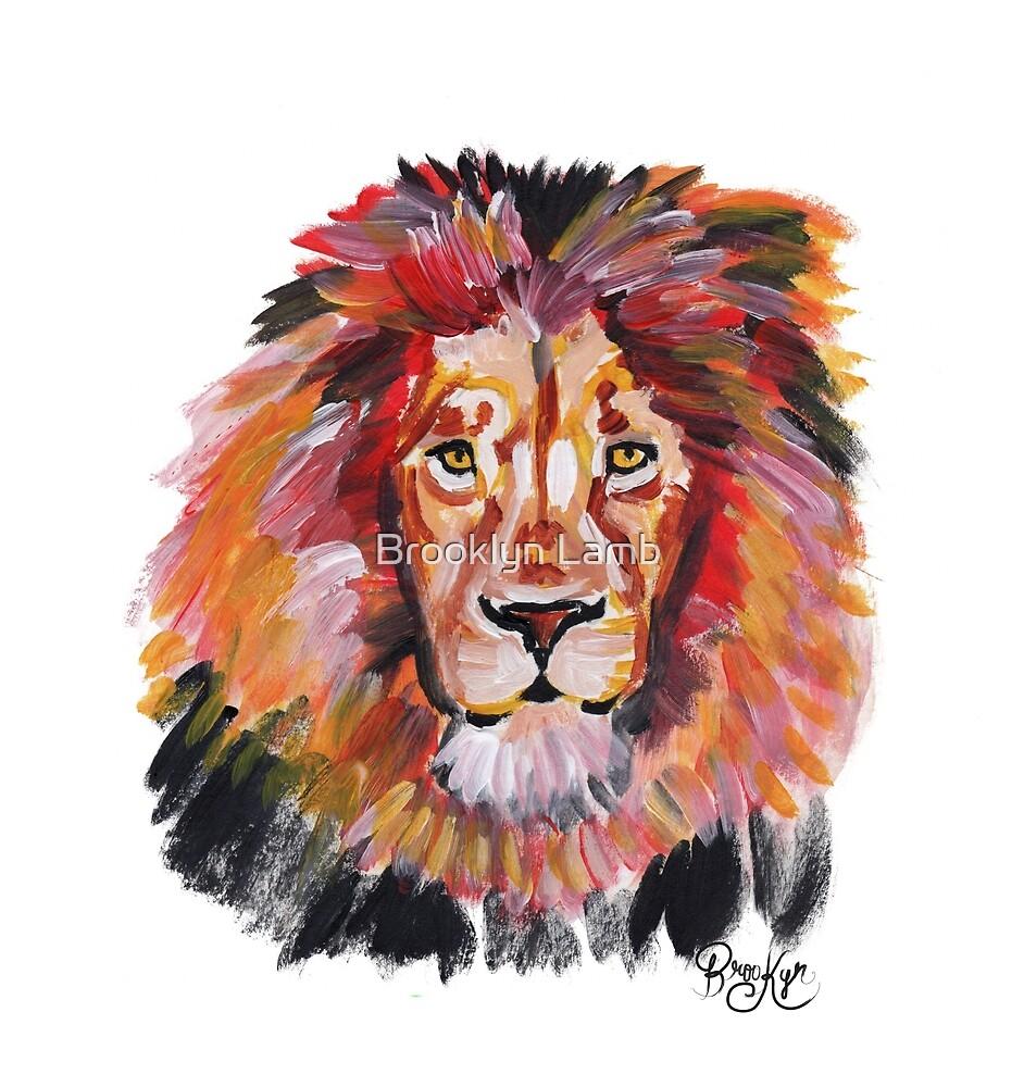 Lion by Brooklyn Lamb