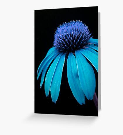 Blue Power Greeting Card