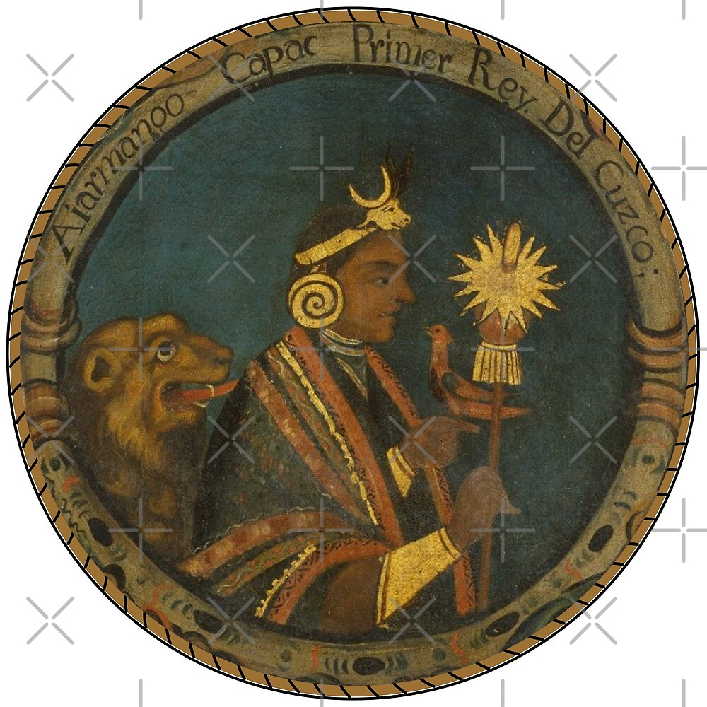 Inca King by NativeAmerica