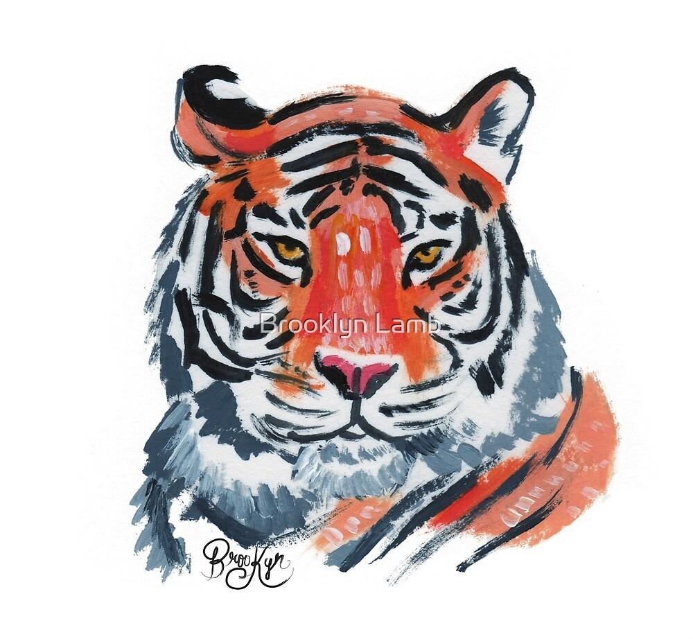 Tiger by Brooklyn Lamb