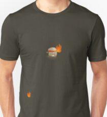 Toast Ninja - Flaming Fists?  Unisex T-Shirt