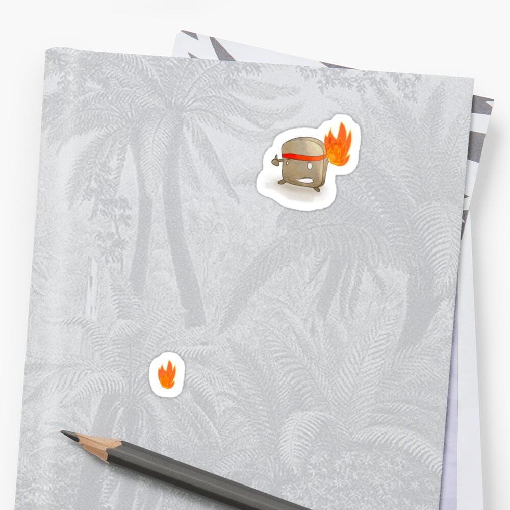 Toast Ninja - Flaming Fists?  by o0OdemocrazyO0o