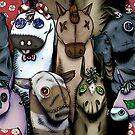 Sock Ponies by Knightosity