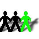 Group Man Green by Henrik Lehnerer