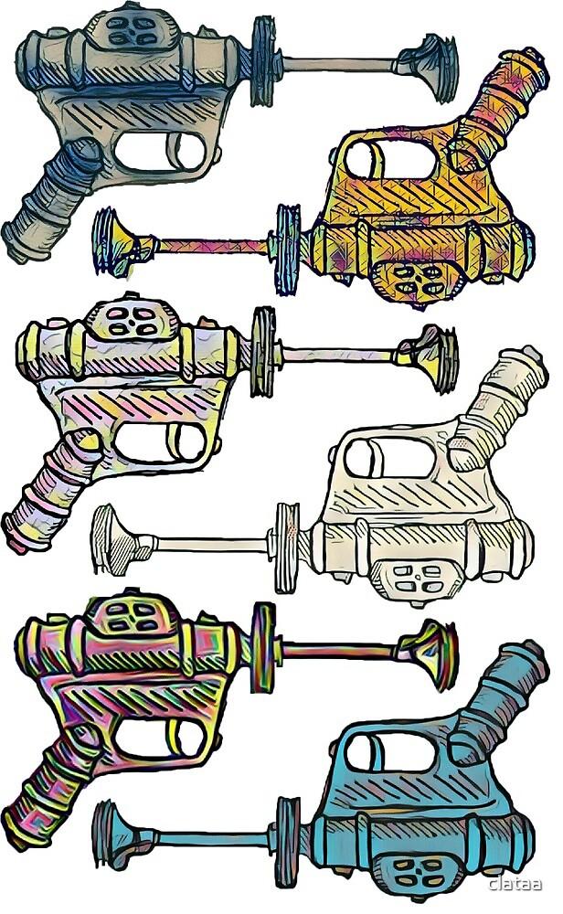 Space guns by clataa
