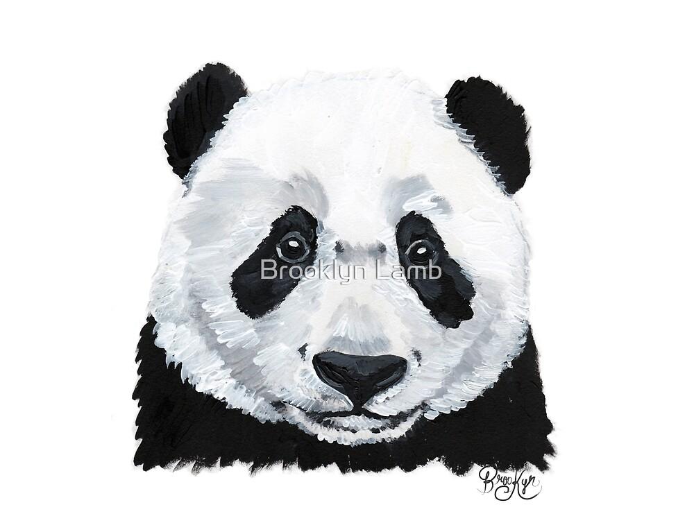 Panda by Brooklyn Lamb