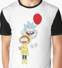 Rick and Morty — It: Part 1 – The Losers' Club Graphic T-Shirt