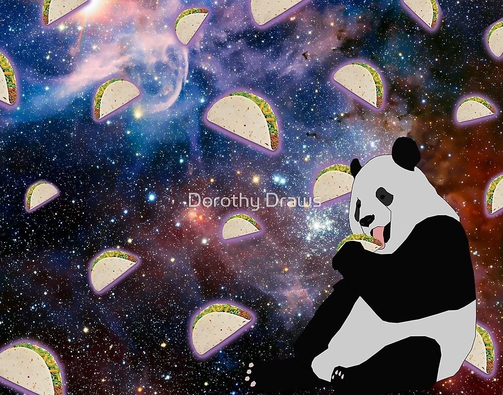 Taco Panda by DorothyPriest