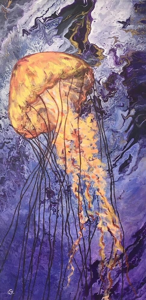 Jellyfish by joyofpaint