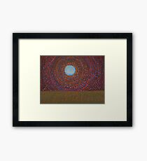 The Difficulty of Crossing a Field original painting Framed Print