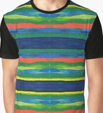 Primary Stripes Graphic T-Shirt