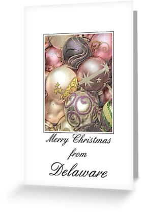 Pastel Ornament card from Delaware by Sabbia-Natale