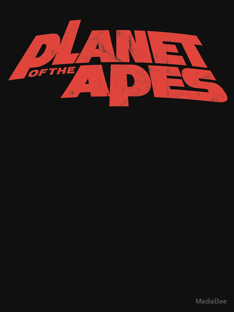 Planet of the Apes vintage red logo 1968 by MediaBee