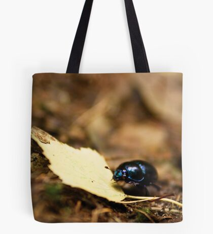 Beetle and his journey Tote Bag