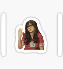 NEW GIRL Sticker