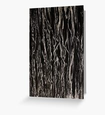 Tangled Wood Greeting Card