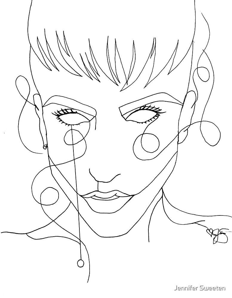 Mitch Grassi Single Line by Jennifer Sweeten