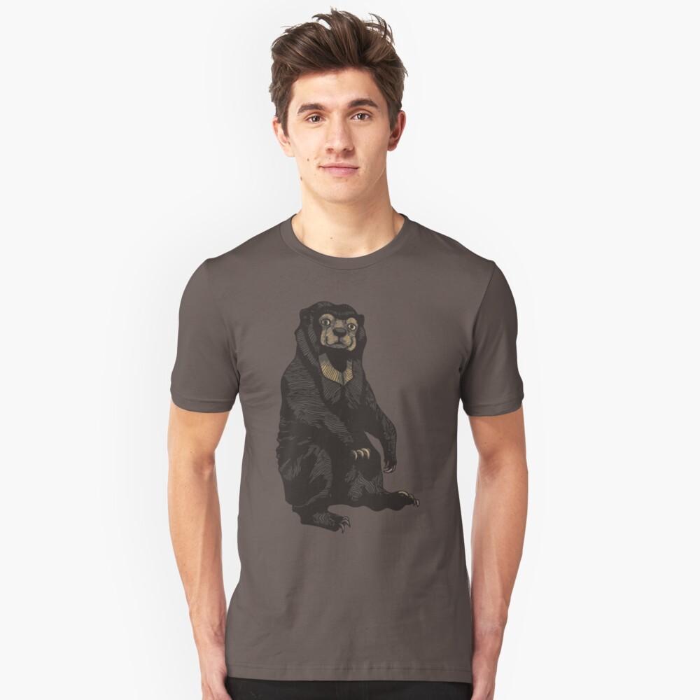 Moon Bear Unisex T-Shirt Front