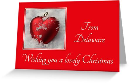 Red hearts ornaments from Delaware by Sabbia-Natale