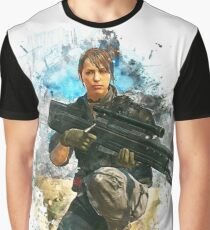 Quiet Metal Gear Solid 5 Graphic T-Shirt