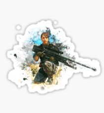 Quiet Metal Gear Solid 5 Sticker