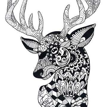 Pattern Stag by ladygabe
