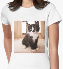 black and white kitten T-Shirt