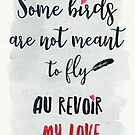Au revoir my love by Sybille Sterk